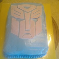 Transformers Cake Autobot