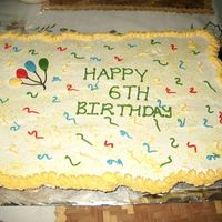 6Th Birthday Cupcake Cake This was my first attempt at the famous cupcake cake..TYFL