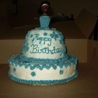 My First Birthday Cake Did this for a friend of mine. Her daughter love blue