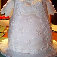 Emily's Christening Gown Made for my niece's christening. The cake was made to resemble her actual dress.