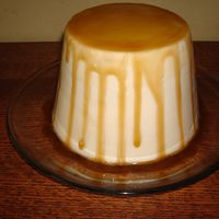 Faux Flan! My sister in law loves to make flan, so I made her a cake to look like one. She wasn't home when I dropped it off, but she called me...
