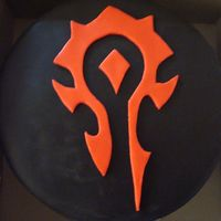 I Have No Idea What This Is! I made this cake for my brother's birthday. He is really into World of Warcraft, so I guess that's what this image is from. He...