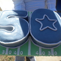 Dallas Cowboys For a 50th b-day.