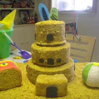 Sandcastle For my sons 5th b-day. He loves the beach.