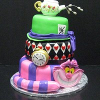 Alice In Wonderland Alice in wonderland cake, fun to make