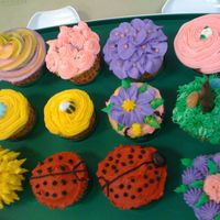 Fun Designs Different cupcake decorations - What a blast to create these, Can't wait to do more!!