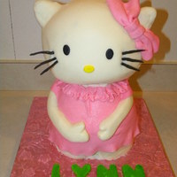 3D Hello Kitty carved, 3d hello kitty