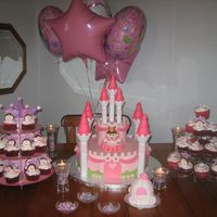 Pink Princess Birthday This pink castle cake, carriage cake, & cupcakes are straight out of the 2010 Wilton Yearbook (page 100). The castle is covered in...