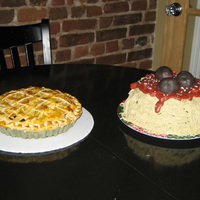 Pie Birthday Cake