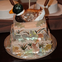 Duck Hunter Grooms Cake