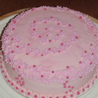 Simple Pink Cake