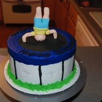Trampoline  This was funny my daughter turned 15 and loves to jump on our trampoline. So I looked around on here and found some trampoline cakes. But I...