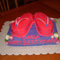 Flip Flop Birthday Inspired by several awesome decorators here, thanks for the ideas...