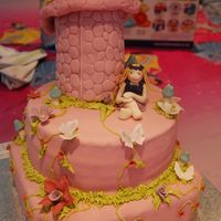 "Enchanted Fairy Cake   Another ""Enchanted Cake"". this time with a true fairy modelled on the birthday girl."