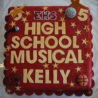 High School Musical High school musical cake for a 5th birthday.