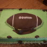 Footbal Birthday Cake