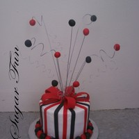 Jonathan Birthday latin cake with pineapple and guava filling. and vanilla buttercream. decorations are fondant.