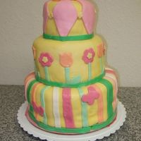 The Before The Cake Class Cake I am a cookie baker but a couple of weeks ago I suddenly became obsessed with making a fondant cake. I've never made a tiered cake or...