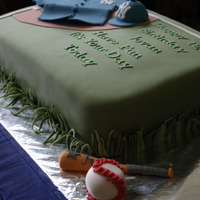Baseball Hello to you all of my cc family, this is my first cake ever on this lovely network, am not perfect but, I know with the help and guidance...