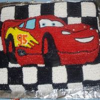 First Cake I did this for my God Son's 1st Birthday. I had never done a cake before, and I had never taken a class either. It was'nt too bad...