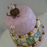 Babyshower Cake 8 inch and 10 inch
