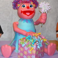 Abby Cadabby I made this for my daughters 4th birthday. time kept me from finishing it, but I think its not so bad. She measure 2 ft tall and about 12&...