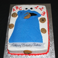 Cookie Monster Thanks to pattyasken for sharing you wonderful cake design!