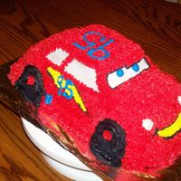 Lighting Mcqueen My daughter loves the movie Cars, so I did a cake when I was learning how to decorate. I was pretty happy with the way it turned out,...