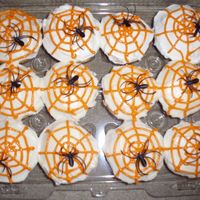 Spiderweb Cupcakes For My Daughters Pdo Class Party