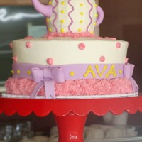 Ava Tea Pot tea pot birthday cake