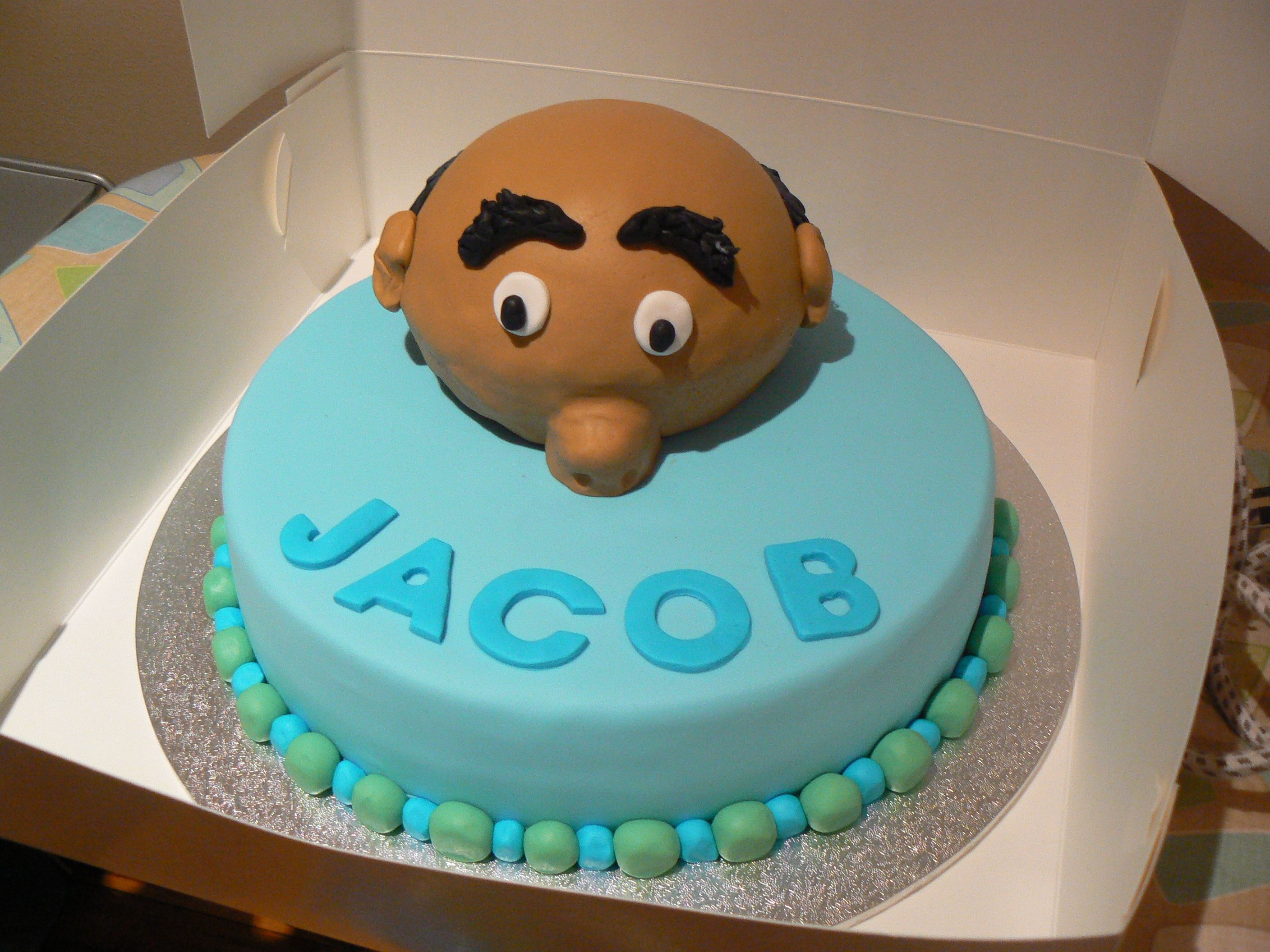 60Th Birthday Cake Made for a friends fathers 60th birthday, it is all made from fondant and was such a fun cake to make