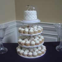 Wedding Cupcake Stand 25Th Anniversary