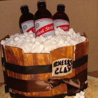 Cooler Of Red Stripe