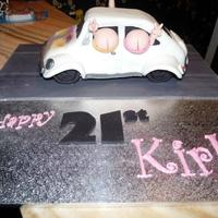 Herbie 21st birthday cake