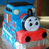 Thomas The Tank Engine  My daughter's cake from her birthday party last week. She is a quirky one - no princess tiaras for this birthday girl - and she didn&#...