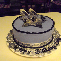 Shoe Cake done for a lady that loves to dance