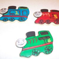 Thomas And Friends I made these to put on my Son's Birthday Cake