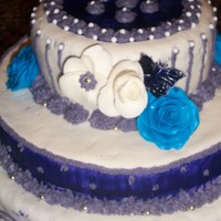 Purple Haze A cake for a friend's promotion. I wanted to surprise her.