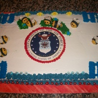Bee Promotion Cake