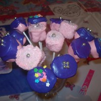Cake Pops My first try at Cake Pops