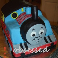 Thomas The Train made this for my little guy...was happy with how it turned out but it was MASSIVE....