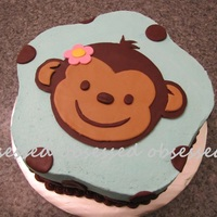 "Monkey I have seen plenty of ""monkey face"" cakes out there...I'm not sure who made the first one but thanks so much for the idea!..."