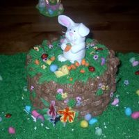 Easter Cake For My Lil Man I felt so bad sending off the earlier easter cake that I just made today, that I had to make a smaller version for my son. I had all that...