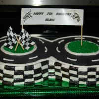 Figure 8 Race Track Figure 8 race track. Cars will be added by the birthday boy. Thanks to everyone for all the ideas off of here!