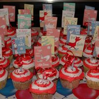 Dr Seuss Day Cupcakes Cupcakes for Dr. Seuss day at my daughter's school.