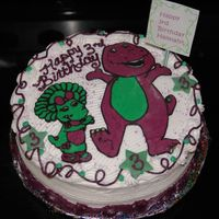 Barney And Baby Bop Fbct of Barney and Baby Bop.