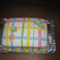 Plaid Cake I saw this cake here on CC, and the original baker gave me permission to copy it. Thank you, patisseriejaja!!I just wish I had thought to...