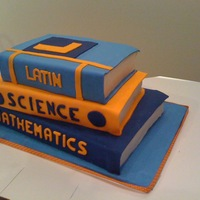Latin School Party Cake