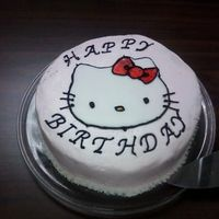 Hello Kitty BC with Fondant HelloKitty
