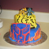 Transformers This was designed by my 2 sons for there 8th and 10th birthday party....I may have to put them on the pay roll...lol It turned out great...